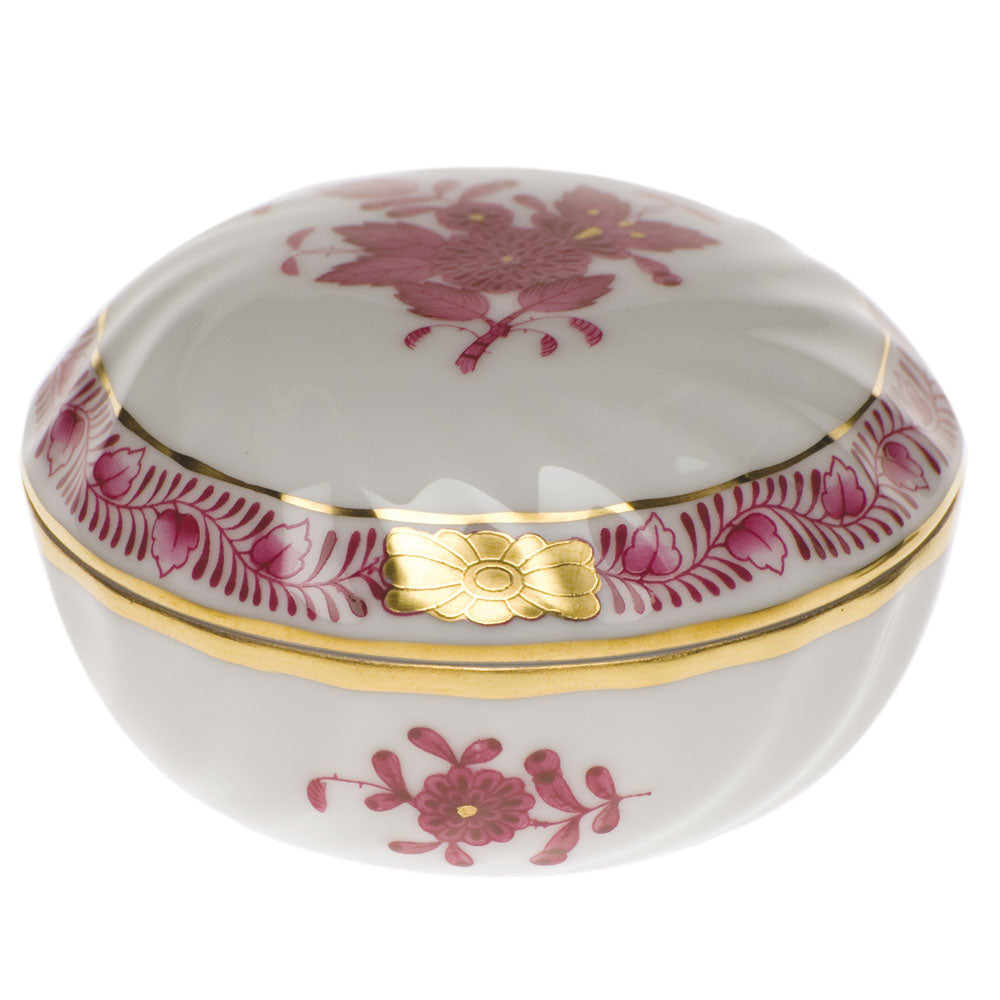 Herend Chinese Bouquet Ring Box Collection
