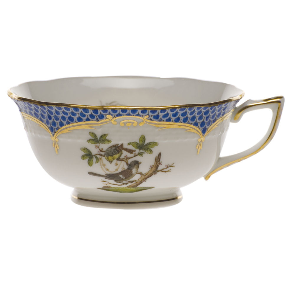 Herend Rothschild Bird Blue Tea Cup Motif #1