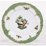 Herend Rothschild Bird Green Bread & Butter Motif #2