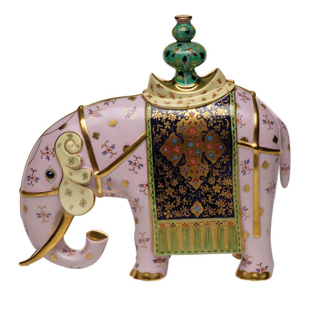 Herend Silk Road Elephant  Limited Edition