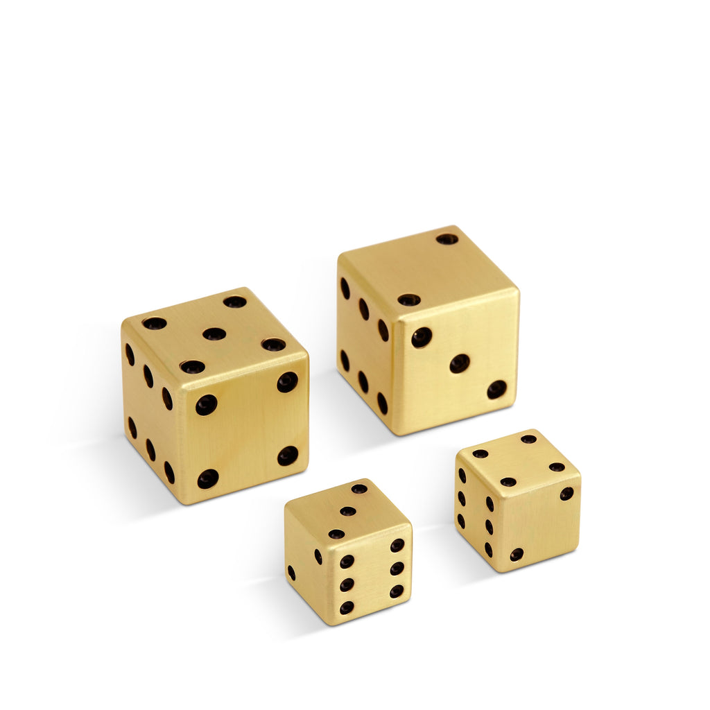 L'Objet Dice 2 Pairs - Small + Large