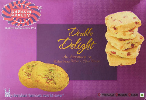 Karachi Bakery Biscuits - Double Delight
