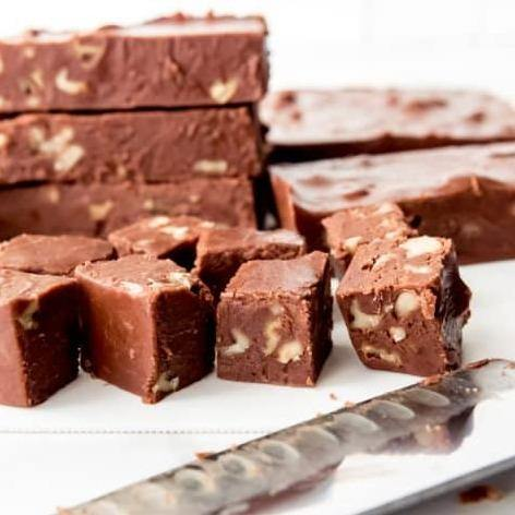 Choco-Walnut Fudge