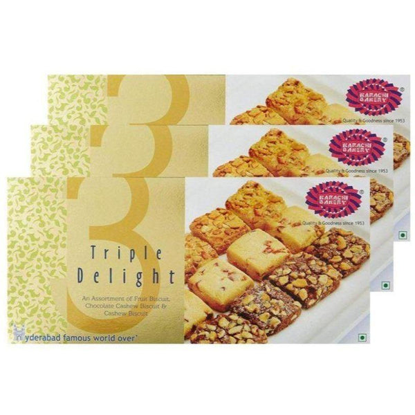 Karachi Biscuits - Triple Delight