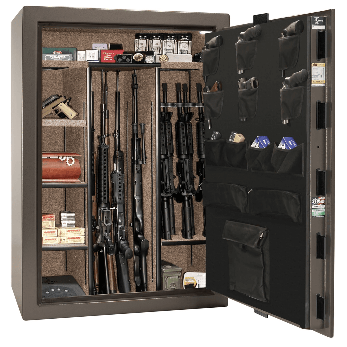 "Fatboy Jr Extreme | 48 | Level 3 Security | 60 Minute Fire Protection | Bronze | Black Electronic Lock | 60.5""(H) x 42""(W) x 25""(D)"