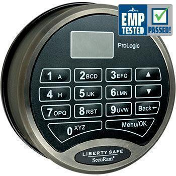 Liberty Safe-accessory-electronic-lock-prologic-black-chrome