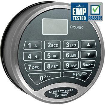 Liberty Safe-accessory-electronic-lock-prologic-chrome