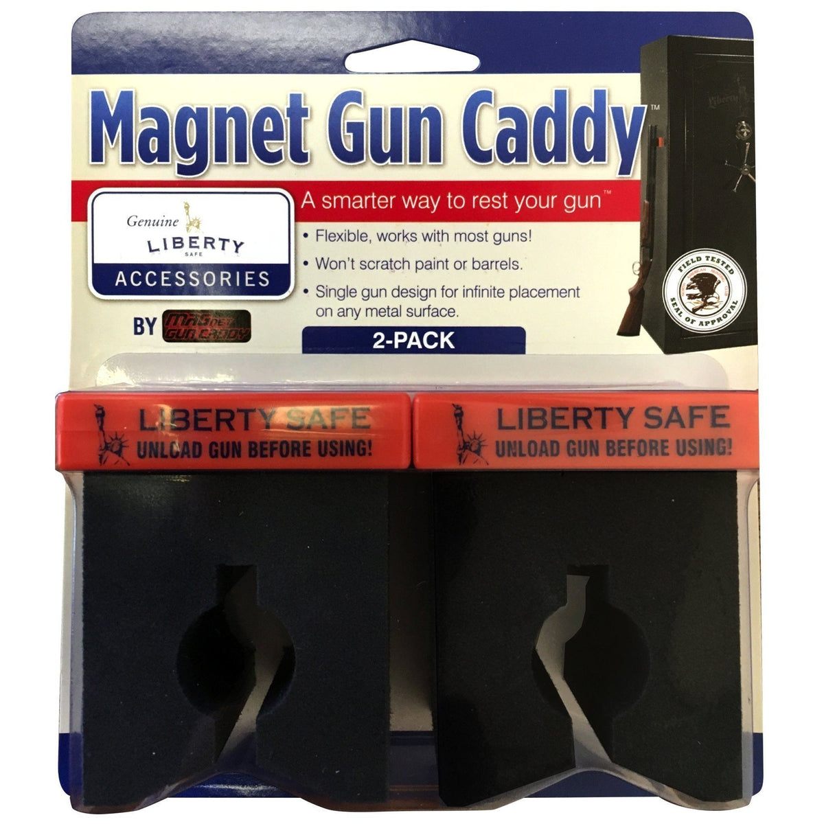 Liberty Safe-accessory-storage-magnet-gun-caddy-2-pack