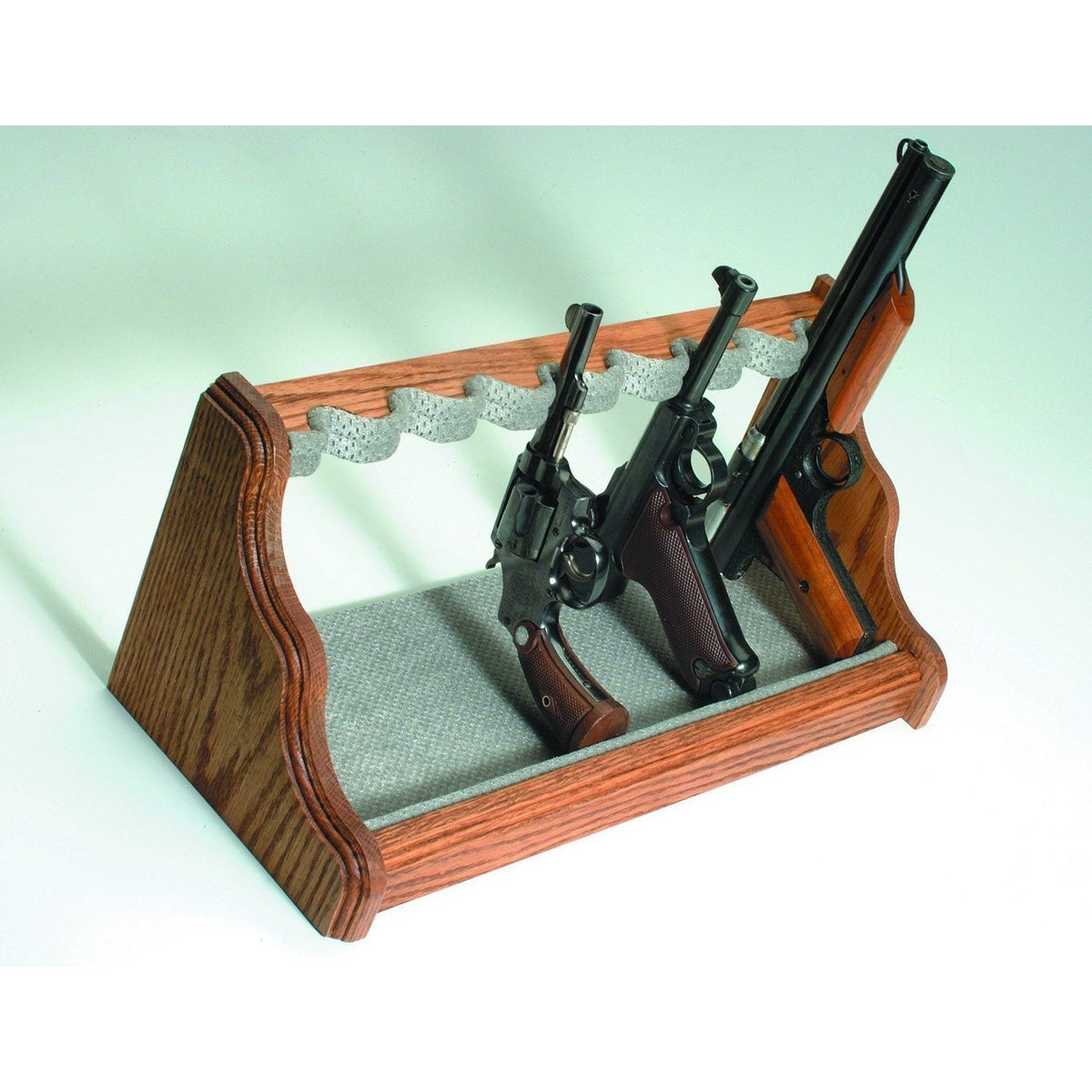 Liberty Safe-accessory-storage-oak-pistol-rack