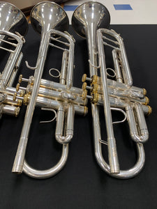2019 System Blue Professional Series Trumpet (SB10, Silver)