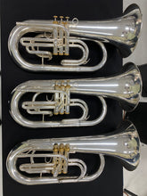 Load image into Gallery viewer, 2019 System Blue Professional Series Euphonium Hybrid (SB30, Silver)