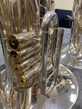 Load image into Gallery viewer, 2019 System Blue Professional Series Over-Shoulder Tuba (SB50, Silver)