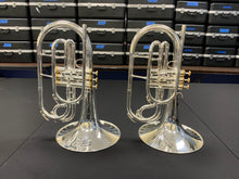Load image into Gallery viewer, NEW System Blue Professional Series Mellophone (SB20, Silver)