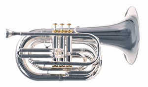 2018 System Blue Professional Marching Series Baritone (SB25, Silver)