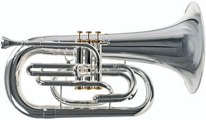 2018 System Blue Traditional Series Euphonium Hybrid (SB30-LE, Silver)