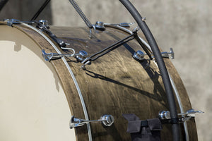 "2018 System Blue Professional Marching Series Concert Bass Drum (40""x 20"", Dark Brown)"