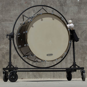 "2019 System Blue Professional Marching Series Concert Bass Drum (40""x 20"", Dark Brown)"