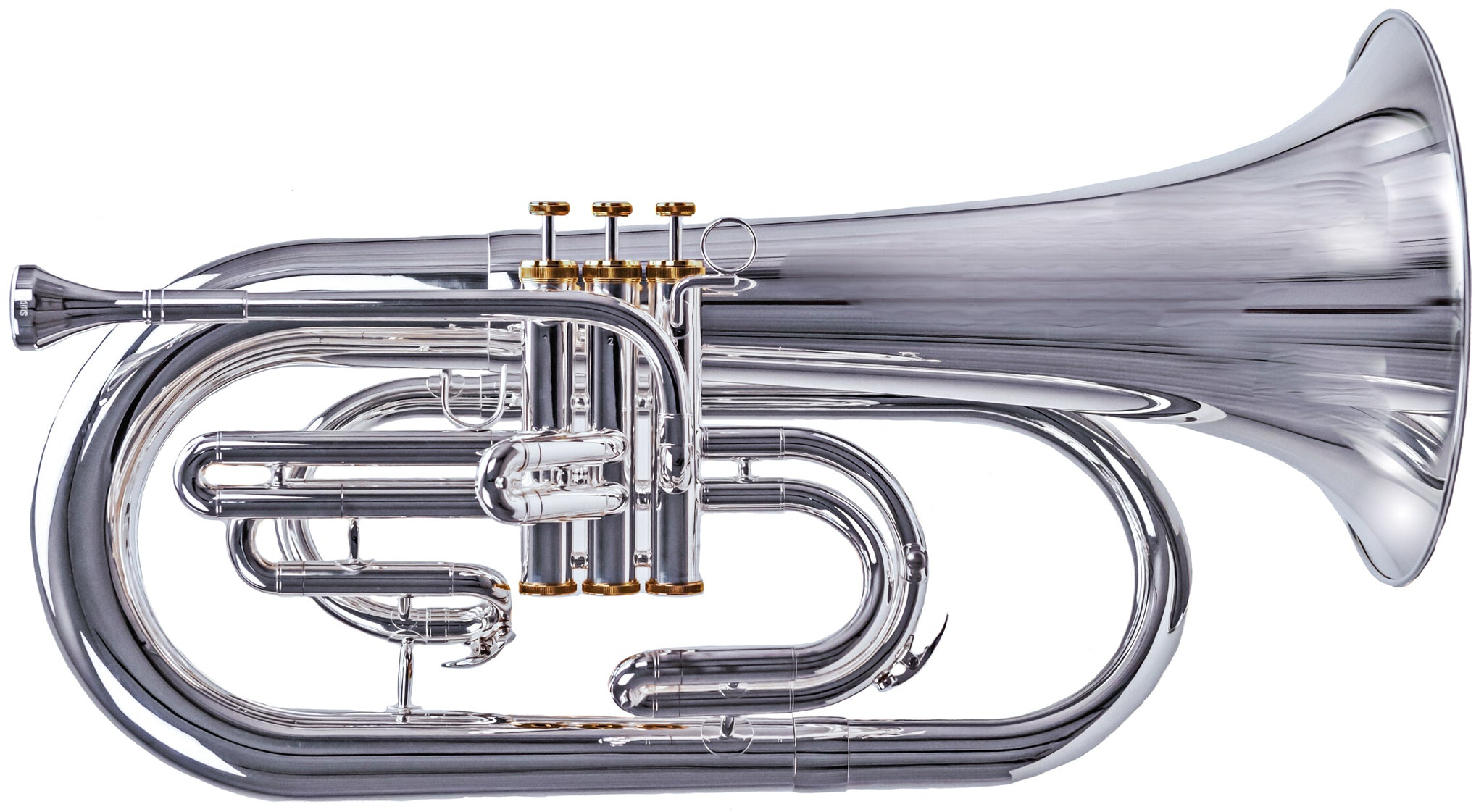 NEW System Blue Professional Series Euphonium Hybrid (SB30, Silver)