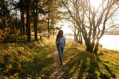 Walk in Nature - Self Care for Stressed Out Parents