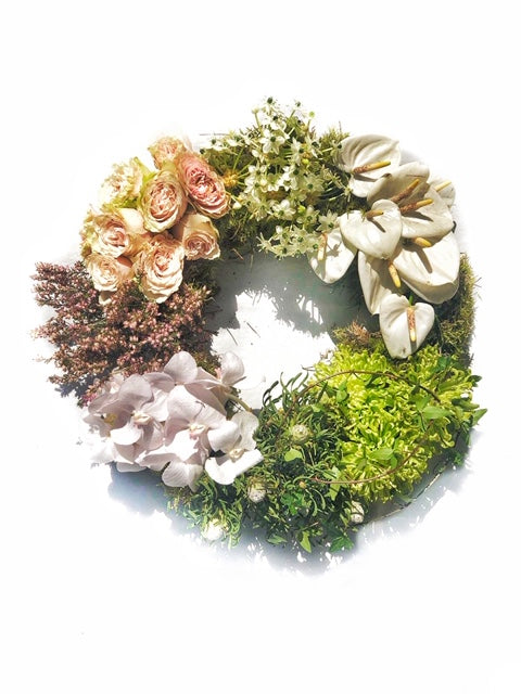 Sectioned wreath