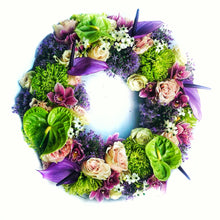 Load image into Gallery viewer, A modern funeral wreath
