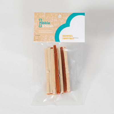 Packet of Salmon twist dog treats