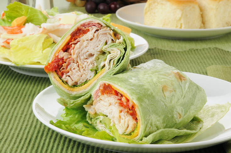 Wrap de Pavo y Nueces