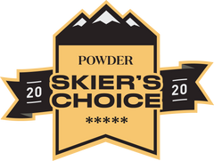 Powder Magazine Skier's Choice 2020 - Masterblaster