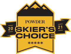 Powder Magazine Skier's Choice 2021 - Slacker