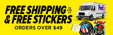 J skis black friday free stickers & free shipping