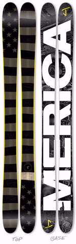 "The Allplay ""MERICA! Limited Edition Ski"