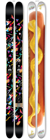 "The Whipit ""HOT DOGGER"" Limited Edition Ski"