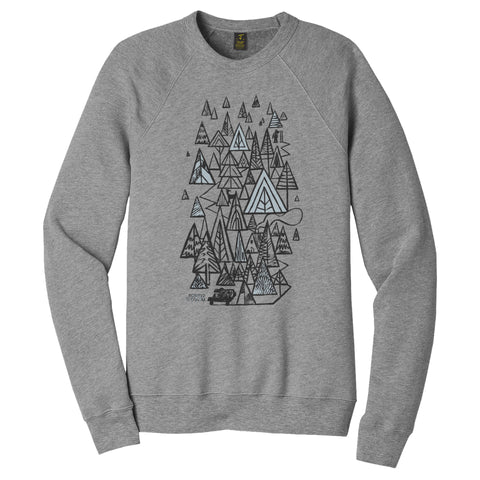 First Tracks Crewneck