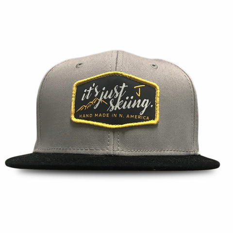 """It's Just Skiing"" Snapback"