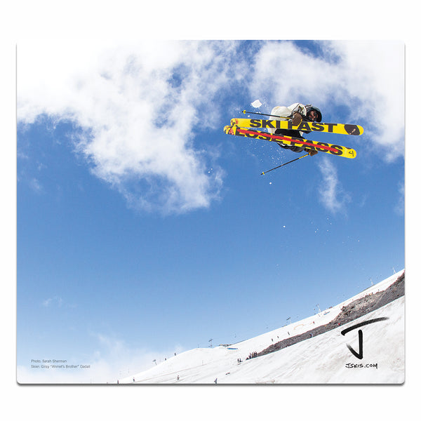 Ski Fast Lose Pass Mouse Pad