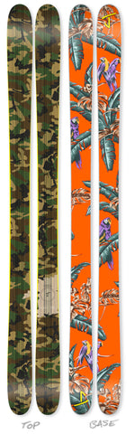 "The Whipit ""TROPIC THUNDER"" Limited Edition Ski"
