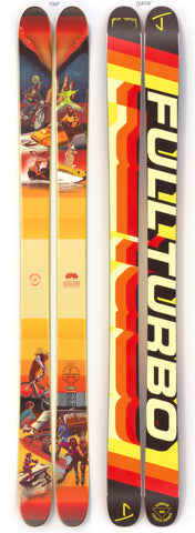 "The Allplay ""FULL TURBO"" Pit Viper x J Collab Limited Edition Ski"