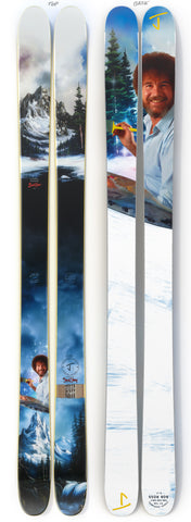 "The Allplay ""THE JOY OF SKIING"" Bob Ross x J Collab Limited Edition Ski"