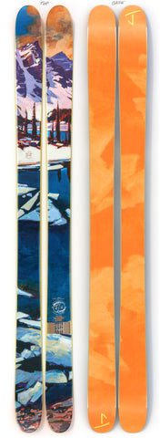 "The Allplay ""MORAINE LAKE"" Mike Svob x J Collab Limited Edition Ski"