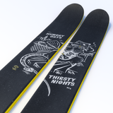 "The Allplay ""STREET RAT"" Sam Zahner x J Collab Limited Edition Ski"