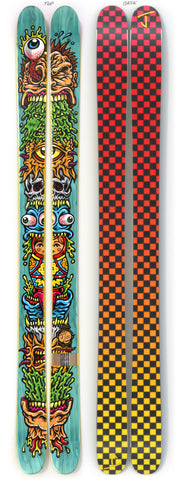 "The Allplay ""STACKED"" Jimbo Phillips x J Collab Limited Edition Ski"