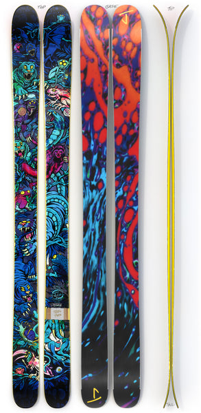 "The Hotshot ""NOCTURNAL DAYDREAM"" Ryan Schmies x J Collab Limited Edition Ski"