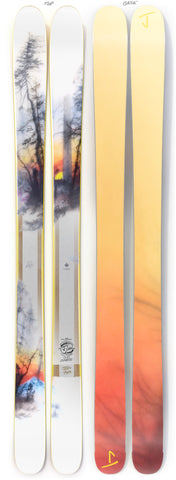 "The Hotshot ""SUNRISE"" Brooks Salzwedel x J Collab Limited Edition Ski"