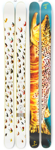 "The Hotshot ""TRUTTA"" Dan Burr x J Collab Limited Edition Ski"