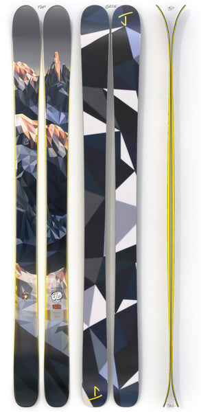 "The Masterblaster ""CERRO TORRE"" Elyse Dodge x J Collab Limited Edition Ski"