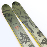 "The Masterblaster ""SURVIVOR"" Liam Ashurst x J Collab Limited Edition Ski"