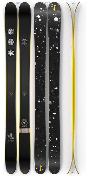 "The Metal ""BENTLEY"" Snowflake Bentley x J Collab Limited Edition Ski"