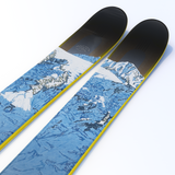 "The Metal ""SHUKSAN"" David Pirrie x J Collab Limited Edition Ski"