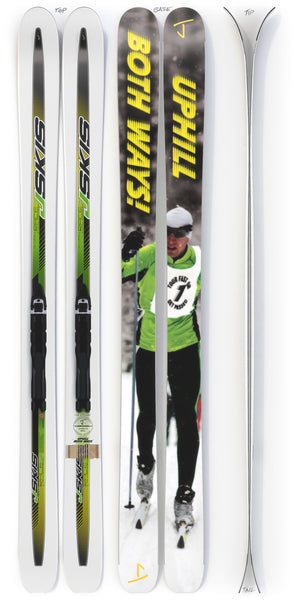 "The Slacker ""UPHILL BOTH WAYS"" Ahmet's Bro x J Collab Limited Edition Ski"