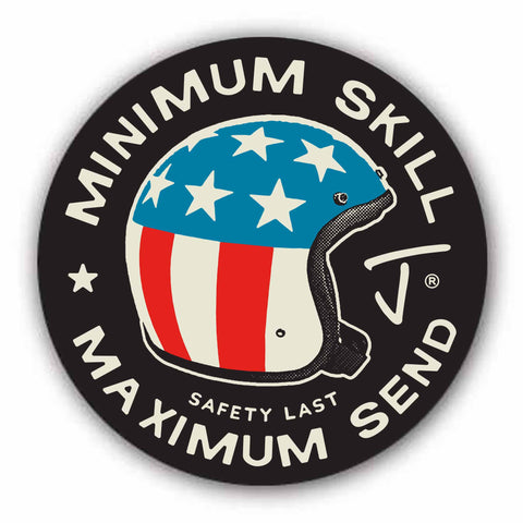 Safety Last Sticker